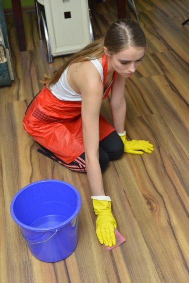 フローリング掃除の頻度や仕方は?お漏らしした時や溝・隙間・カビの対処方法について